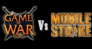 Game of War vs Mobile Strike