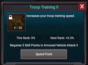 Troop Training II is the holy grail for Troop Training